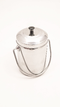 Beakers -Stainless Steel - with handle and lid 11001